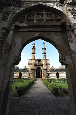 Jami Masjid, built in 1513 taking 25 years to construct, part of UNESCO World Heritage Site, Champaner, Gujarat, India, Asia