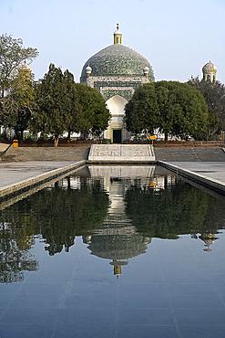 Afaq Khoja Mausoleum, near Kashgar, the holiest Muslim site in Xinjiang, Province, China, Asia