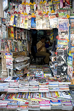 Books Corner, an excellent small bookshop in Jaipur, Rajasthan, India, Asia