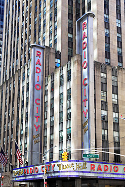 Radio City Music Hall, Rockefeller Center, Midtown, Manhattan, New York City, New York, USA