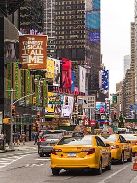 Times Square, Theatre District, Midtown, Manhattan, New York City, New York, United States of America, North America