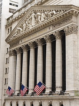 New York Stock Exchange, Wall Street, Manhattan, New York City, New York, United States of America, North America