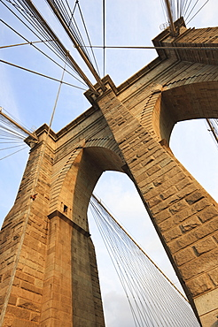 Brooklyn Bridge, New York City, New York, United States of America, North America