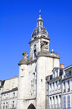 The Great Clock Tower, La Rochelle, Charente-Maritime, France, Europe