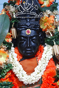 Mariamman Hindu Temple, Goddess Periyachi Amman, Ho Chi Minh City, Vietnam, Indochina, Southeast Asia, Asia