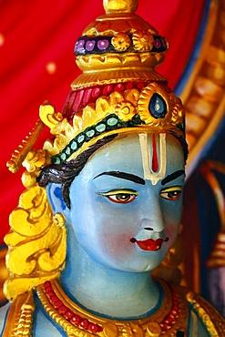 Vishnu, Hindu Temple and Shrine of Batu Caves, Kuala Lumpur, Malaysia, Southeast Asia, Asia