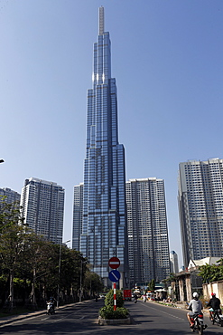 Landmark 81, a super tall skyscraper, Ho Chi Minh City, Vietnam, Indochina, Southeast Asia, Asia
