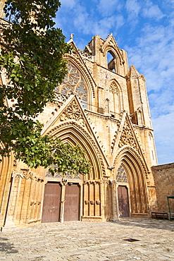 Lala Mustafa Pasa Mosque, Famagusta, Turkish part of Cyprus, Cyprus, Europe