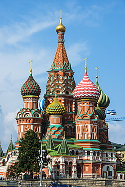 St. Basil´s Cathedral on Red Square, UNESCO World Heritage Site, Moscow, Russia, Europe