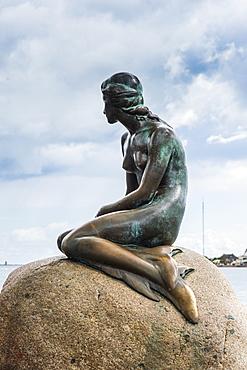 Statue of the Little Mermaid, Copenhagen, Denmark, Scandinavia, Europe