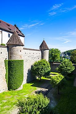 Fortress Marienberg, Wurzburg, Franconia, Bavaria, Germany, Europe