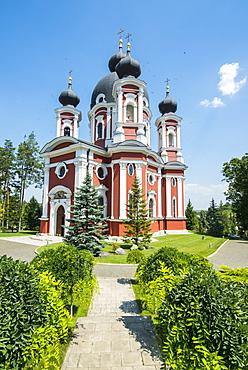 The orthodox monastery of Curchi, Moldova