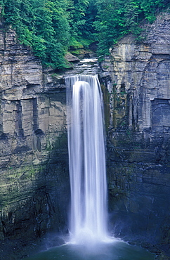 Taughannock Falls, Taughannock Falls State Park, Ithaca, New York State, United States of America, North America