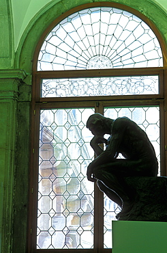 The Thinker by Rodin, Ca'Pesaro Gallery of Modern Art, Venice, Veneto, Italy, Europe