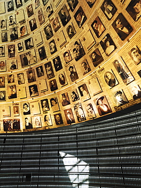 Volumes of Holocaust victims, Hall of Names, Yad Vashem, Jerusalem, Israel, Middle East