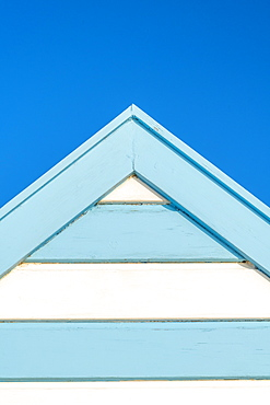 Beach hut, Southwold, Suffolk, England, United Kingdom, Europe