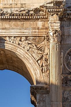 Arch of Constantine, UNESCO World Heritage Site, Rome, Lazio, Italy, Europe