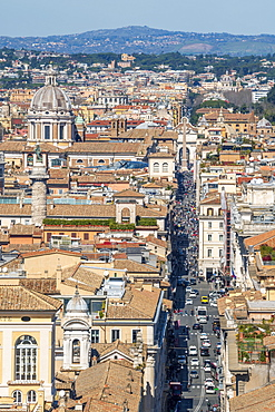 Via del Corso, Rome, Lazio, Italy, Europe