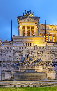 Vittorio Emanuele II Monument, Altare della Patria (Altar of the Fatherland), Rome, Lazio, Italy, Europe