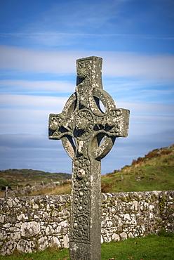 Old Parish Church of Kildalton, the Kidalton High Cross, Islay, Argyll and Bute, Scotland, United Kingdom, Europe