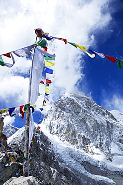 Summit of Kala Patthar looking to Pumo Ri, Sagarmatha National Park, UNESCO World Heritage Site, Solukhumbu District, Nepal, Himalayas, Asia