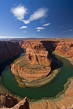 River bend of the Colorado River Horseshoe Bend near Page, Arizona, USA