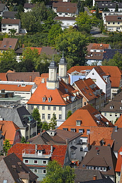 A view to the old part of town of Tuttlingen - Baden Wuerttemberg, Germany, Europe.