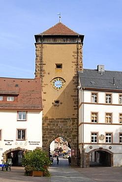 Villingen - towngate - Baden Wuerttemberg, Germany, Europe.