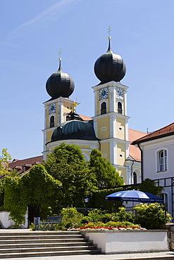 Church St Michael in Metten Lower Bavaria Germany