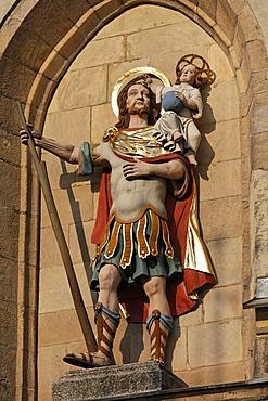 St Christophorus in Kemnath - Upper Palatinate Bavaria Germany