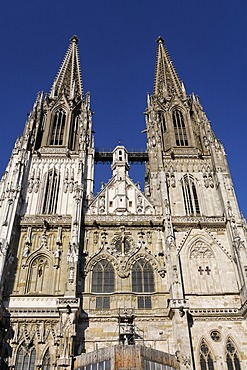 Regensburg , St. Peter Cathedral , Upper Palatinate Bavaria Germany