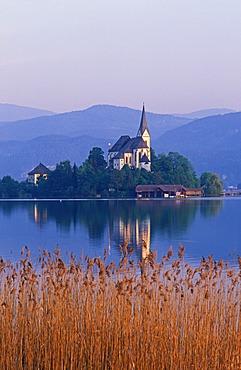 Maria Wörth Wörther See lake Carinthia Austria