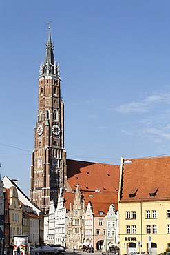 St. Martin church, Landshut, Lower Bavaria, Germany