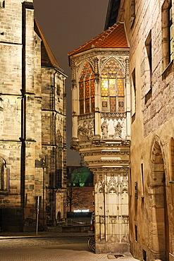 Sebalder Pfarrhof, Nuremberg, Franconia, Bavaria, Germany