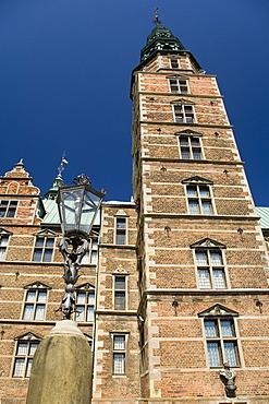 Rosenborg Castle in Copenhagen, Denmark, Europe