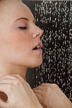 Women in the shower