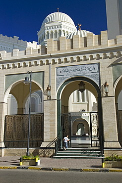 Former cathedral and now a mosque in Tripoli, Tripolis