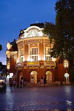 Opera Varna by night, Bulgaria, Europe