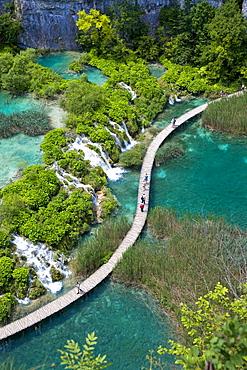 National park Plitvicer lakes, Lika-Senj, Croatia, Europe