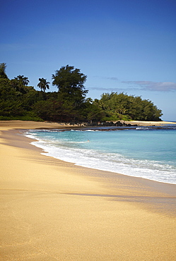 Tunnels Beach, Ha'ena State Park, Kauai, Hawaii, USA, North America