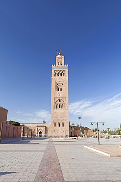 Koutoubia Mosque in Marrakech, Morocco, Africa