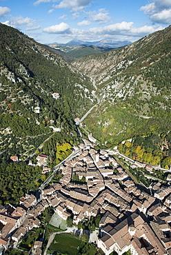 Historic town of Gubbio, Province of Perugia, Umbria, Italy, Europe