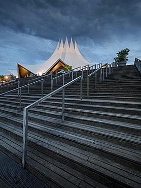 The Tempodrom at dusk, Berlin, Germany, Europe