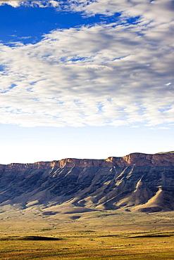Landscape at the ephemeral stream Tsauchab, Naukluft Mountains, Namibia, Africa