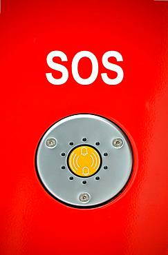 SOS emergency call button, Germany, Europe