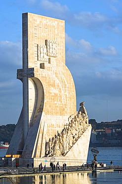 Monument to the Discoveries, Padrao dos Descobrimentos, Belem district, Lisbon, Portugal, Europe