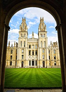 All Souls College, Oxford, England, United Kingdom, Europe