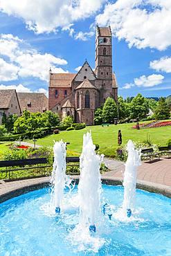 Monastery church, Alpirsbach, Black Forest, Baden-Wuerttemberg, Germany, Europe
