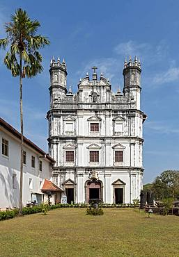 Church and Convent of St. Francis of Assisi, Old Goa, India, Asia