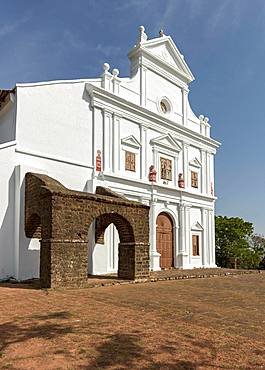 Chapel of Our Lady of the Mount, Old Goa, India, Asia